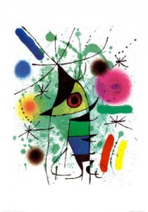 Joan Miro Singing Fish