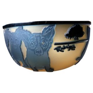 Blue Dog bowl