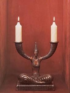 Erte Fortune Candlesticks
