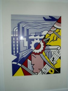 Roy Lichtenstein Industry and the Arts (II)