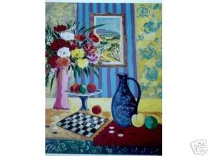 Le Vase Bleu de Madrid