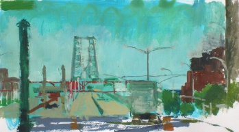 Williamsburg Bridge from Manhatten