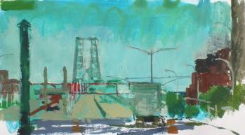 Williamsburg Bridge from Manhatten