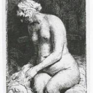 Seated Naked WomanBig