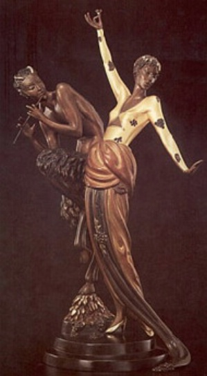 Woman and Satyr
