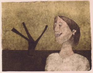 Mujer Con Arbol (Woman with Tree)