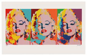 Three Faces of Marilyn