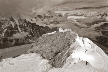 From the Summit of Imja Tse, Nepal