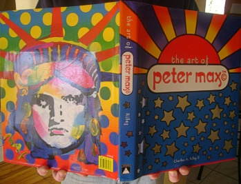 Peter Max Book     SOLD