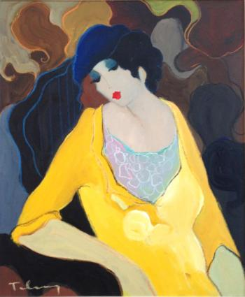 Lady in Yellow Suit
