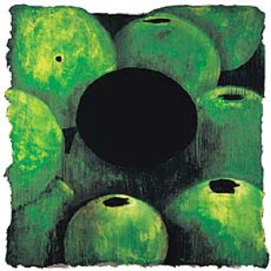 Green Apples and A Black Egg