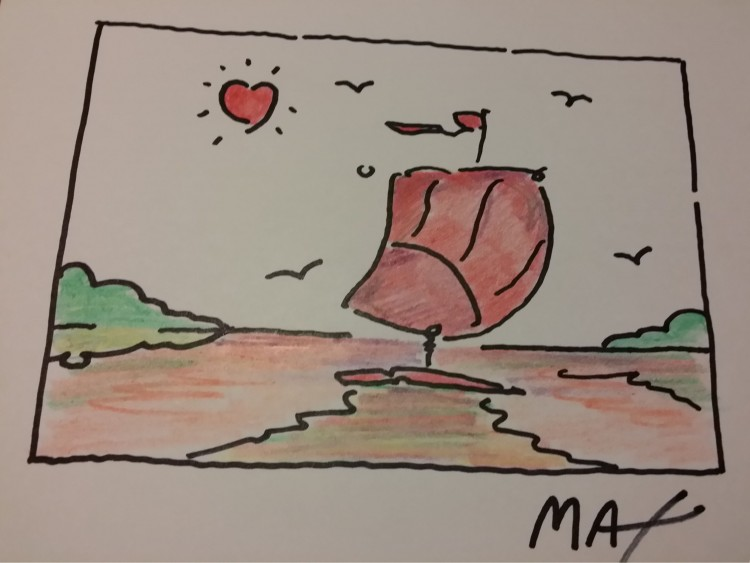 Untitled (image = Sailboat with Heart)