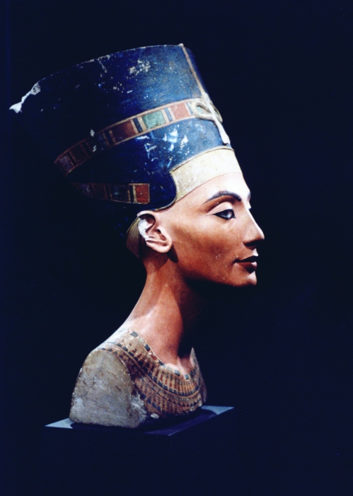 The bust of the egyptian queen nefertiti is a cultural icon both for