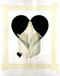 Fringe Gown -  June Bride Suite