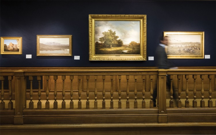 Christies Article About Hanging Art