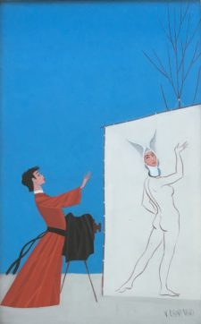 "Friar & ""Nun-bunny"""